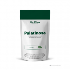 Palatinose - Fornece Energia Prolongada e Queima Mais Calorias (500g)