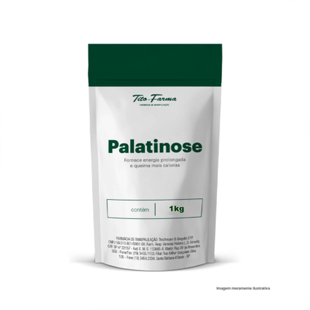 Palatinose - Fornece Energia Prolongada e Queima Mais Calorias (1kg) - Tito Farma