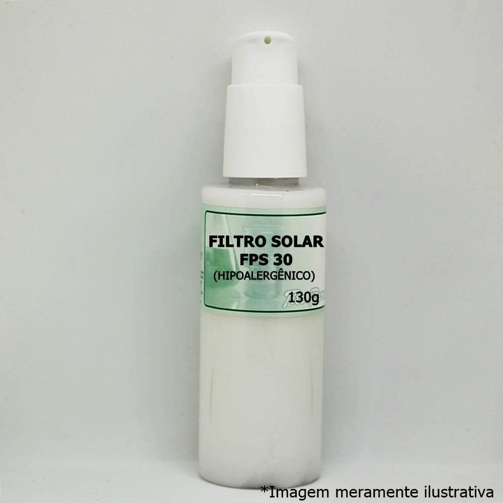 Filtro Solar FPS 30 (Hipoalergênico) - Para Todos os Tipos de Pele (130g) - Tito Farma