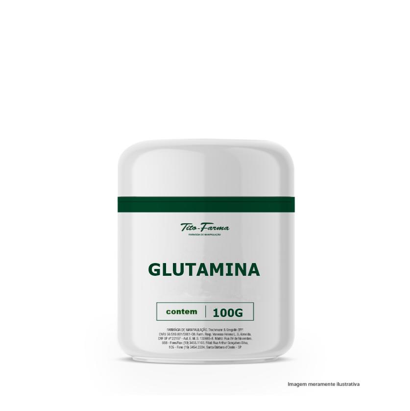Glutamina - 100g - Tito Farma