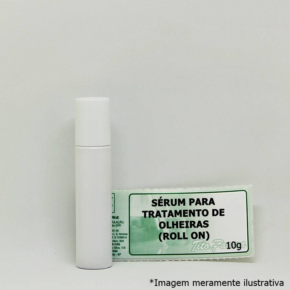 Sérum para Tratamento de Olheiras - 10g (Roll On) - Tito Farma