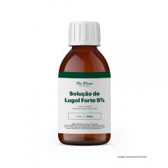 Solução de Lugol Forte - Auxilia a Regular o Funcionamento da Tireoide (5% - 50mL)