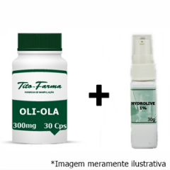 Kit Auxiliar no Combate das Manchas: Oli-Ola 300mg - 30 Cps + Hydrolive 1% - 30g