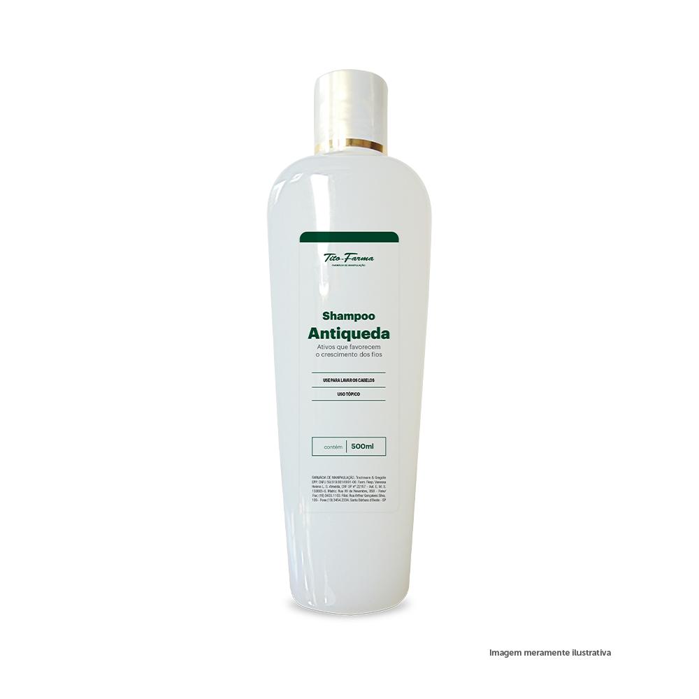 Shampoo Antiqueda - Ativos que Favorecem o Crescimento dos Fios (500mL) - Tito Farma