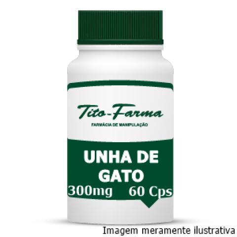 Unha de Gato - Propriedades Anti-inflamatória, Antimutagênica e Imunoestimuladora (300mg - 60 Cps) - Tito Farma