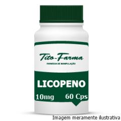 Licopeno - Auxilia a Reverter os Danos Causados pelo Fumo, Poluição e Radiação Solar (10mg - 60 Cps)