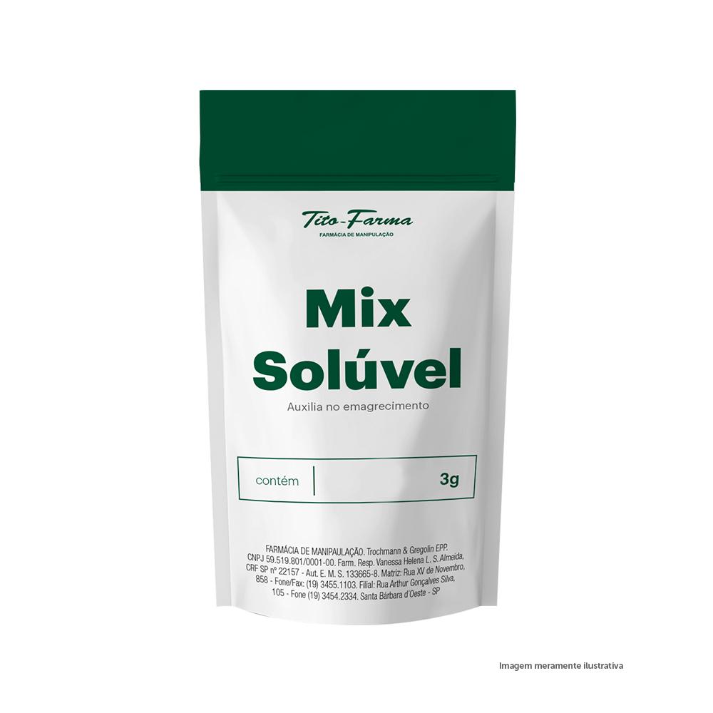 Mix Solúvel Auxiliar no Emagrecimento - 3g - Tito Farma