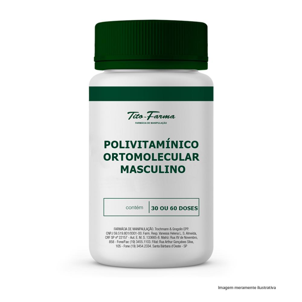 Polivitamínico Ortomolecular Masculino - Tito Farma