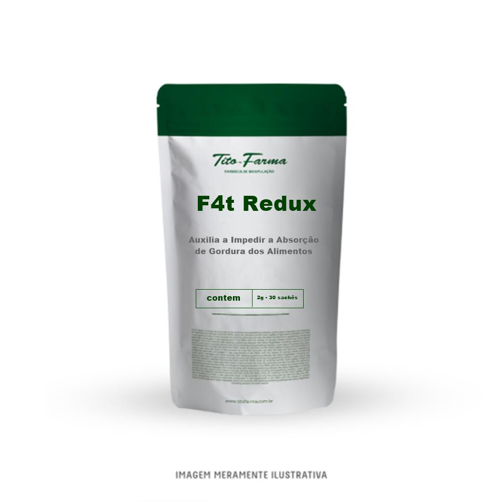 F4t Redux - Auxilia a Impedir a Absorção de Gordura dos Alimentos (2g - 30 Sachês) - Tito Farma