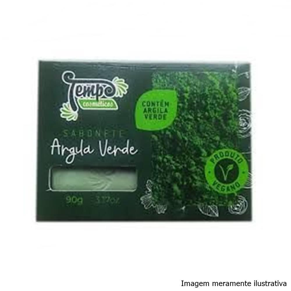 Sabonete de Argila Verde - Limpa a Pele Profundamente, Controla a Oleosidade e Absorve Toxinas (90g) - Tito Farma