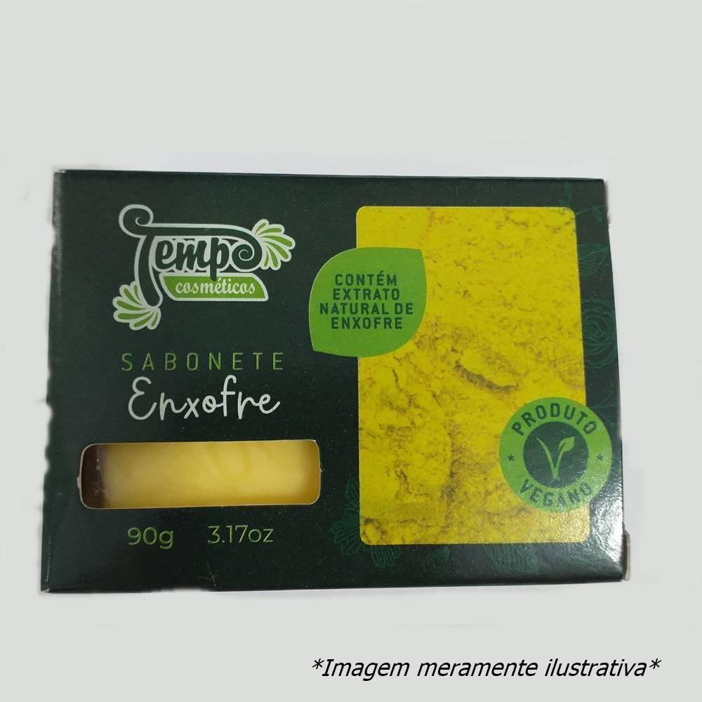 Sabonete de Enxofre - Limpa e Desintoxica a Pele (90g) - Tito Farma