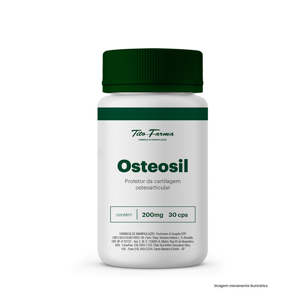 Osteosil - Protetor da Cartilagem Osteoarticular (200mg - 30Cps) - Tito Farma