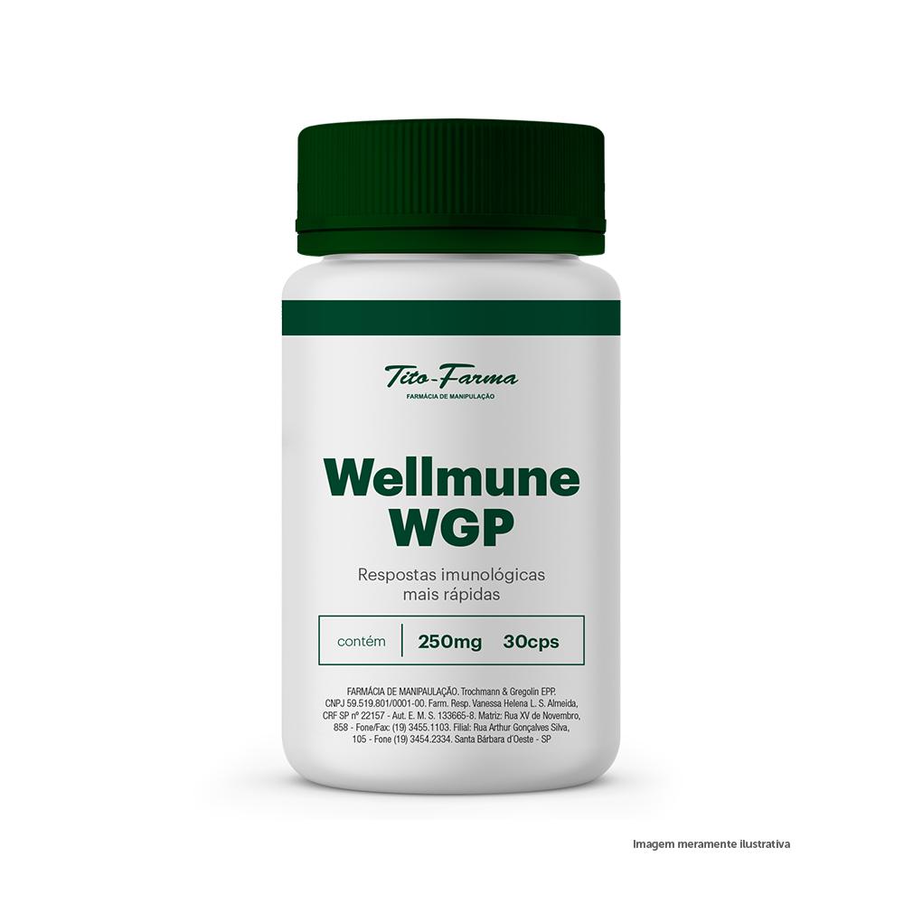 Wellmune WGP - Respostas Imunológicas Mais Rápidas (250mg - 30 Cps) - Tito Farma