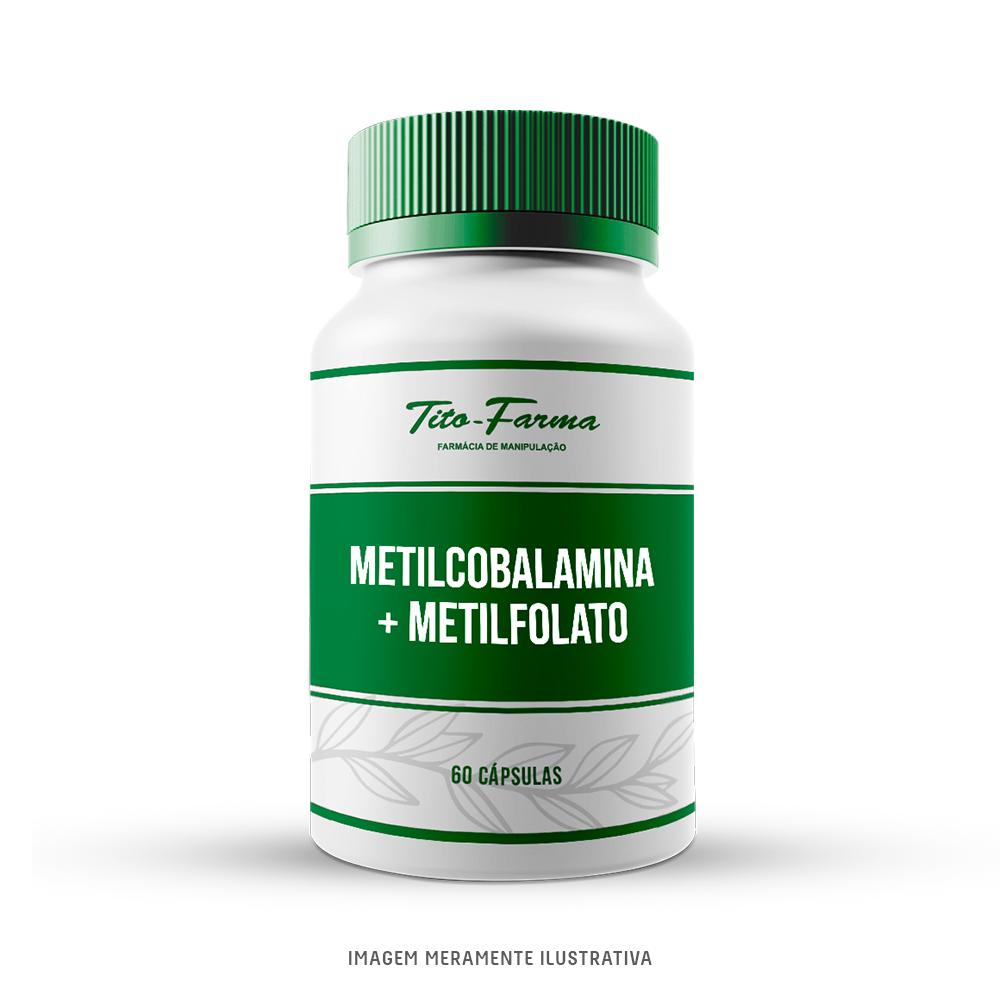 Metilcobalamina + Metilfolato - Forma Ativa da Vitamina B12 e do Ácido Fólico - Tito Farma