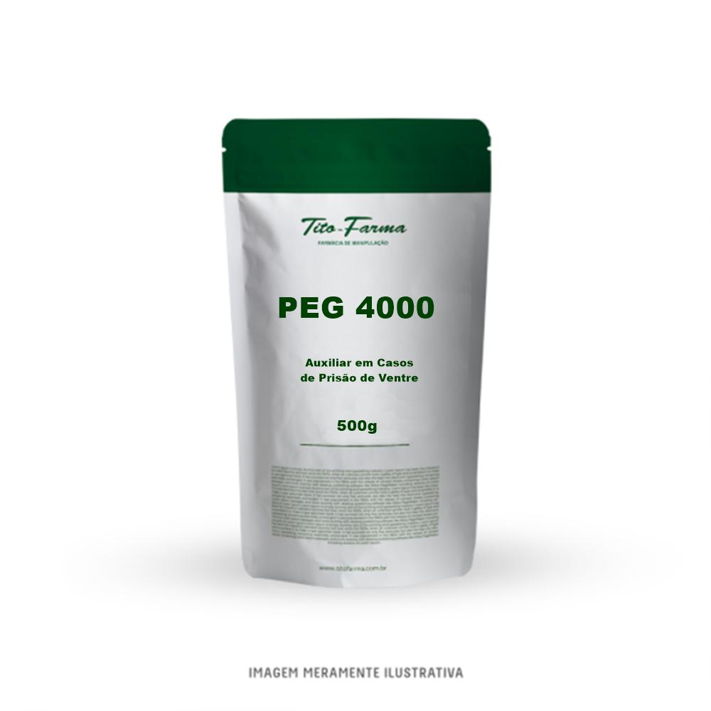 PEG 4000 - Auxiliar em Casos de Prisão de Ventre (500g) - Tito Farma