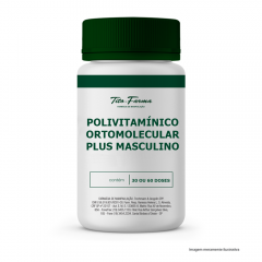 Polivitamínico Ortomolecular PLUS (Masculino)
