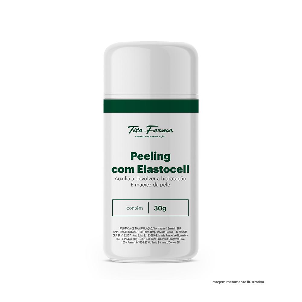 Peeling com Elastocell – Auxilia a Devolver a Hidratação e Maciez da Pele (30g) - Tito Farma