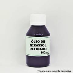 Óleo de Girassol Refinado - Ação Emoliente e Auxiliar na Cicatrização (100mL)