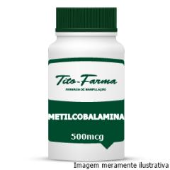 Forma Ativa da Vitamina B12 - Metilcobalamina (500mcg)