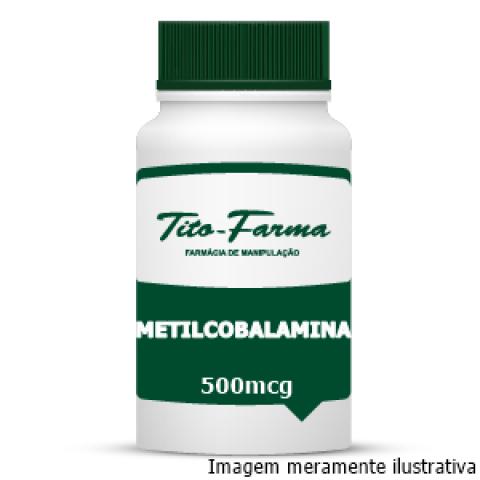 Forma Ativa da Vitamina B12 - Metilcobalamina (500mcg) - Tito Farma