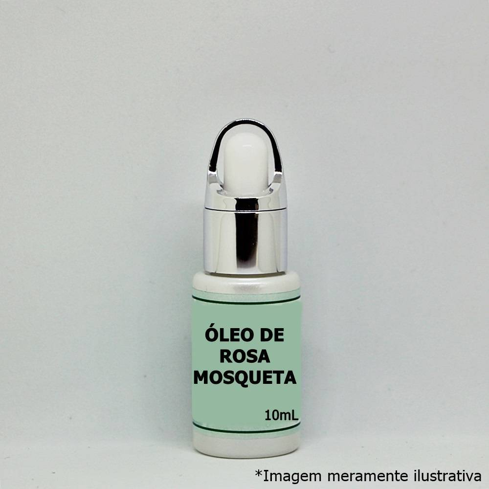 Óleo de Rosa Mosqueta - Alto Poder Regenerador de Tecidos e Hidratante (10mL) - Tito Farma