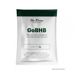 GoBHB™ - Auxiliar em Dietas Low Carb e Cetogênica com Efeitos Potencializados (3g - 1 Sachê)