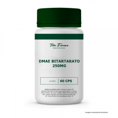 DMAE Bitartarato - 250 mg - 60 Cps
