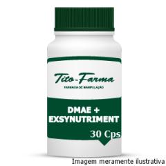 DMAE + Exsynutriment - Retarda o Envelhecimento Precoce (150mg + 300mg - 30 Cps)