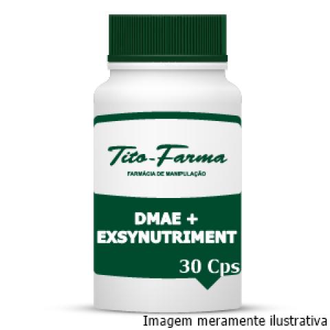 DMAE + Exsynutriment - Retarda o Envelhecimento Precoce (150mg + 300mg - 30 Cps) - Tito Farma