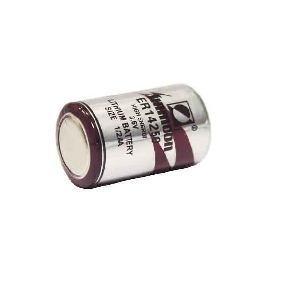Bateria 3,6V ER14250 (1/2AA) Lithium UNMOON s/ terminal - Casa da Pilha