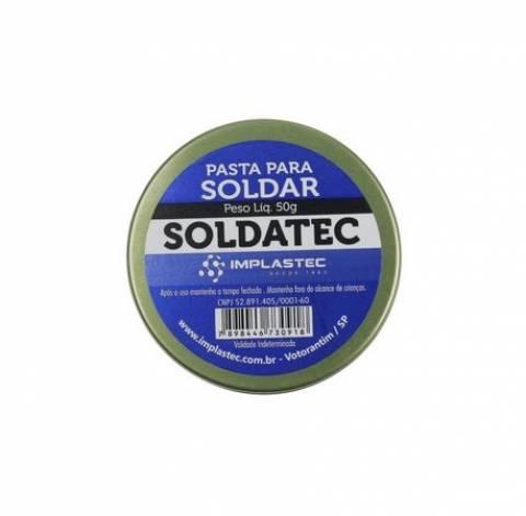 Pasta p/ Soldar Soldatec 50g Implastec - Casa da Pilha
