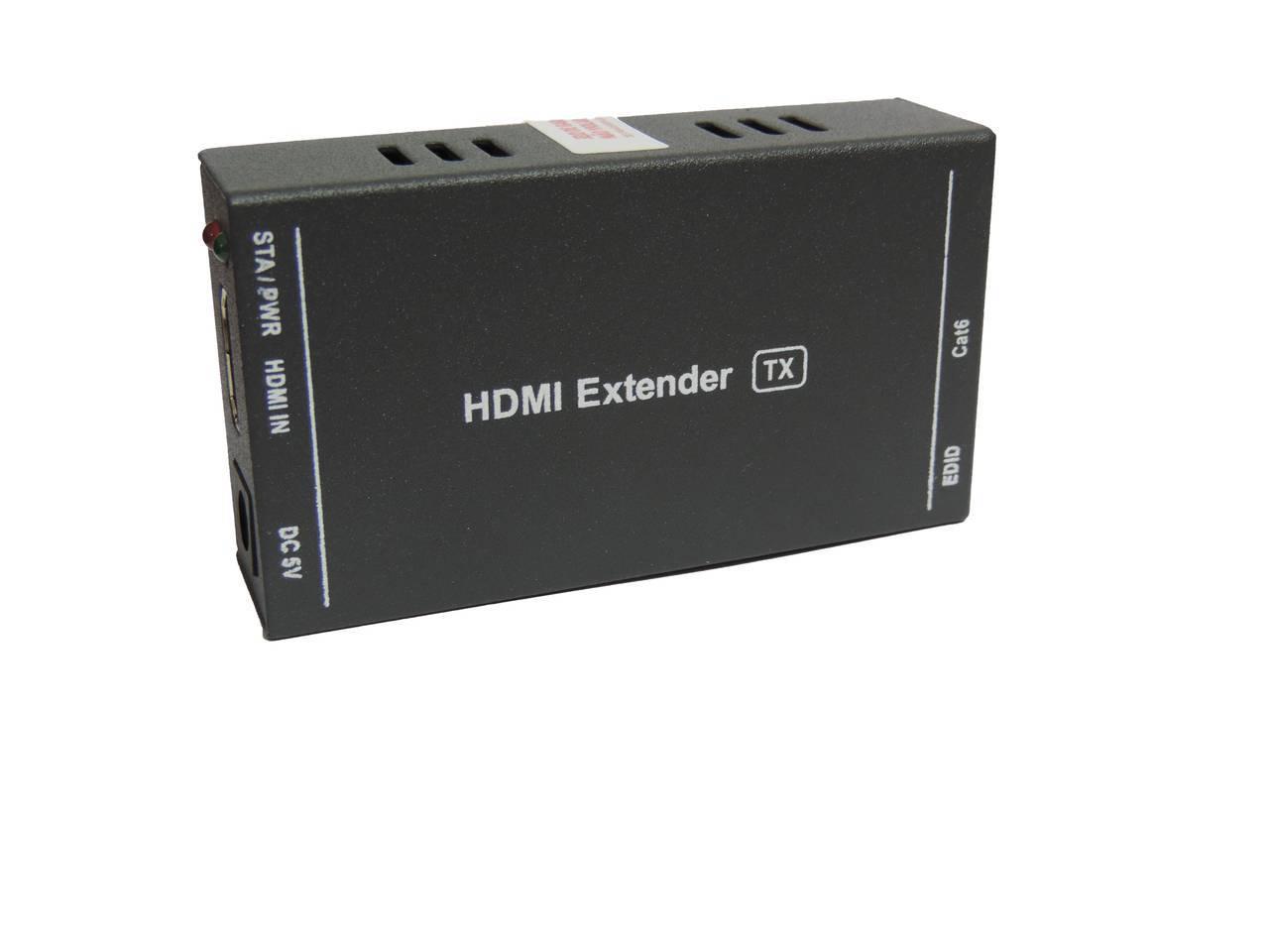 Extensor HDMI Até 60m 1 via RJ45 CAT 5E/6 3D - Casa da Pilha