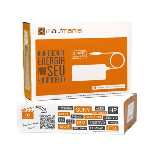 Fonte p/ Notebook 19V 3.42A Bivolt 6.5x4.4mm MAISMANIA - Casa da Pilha