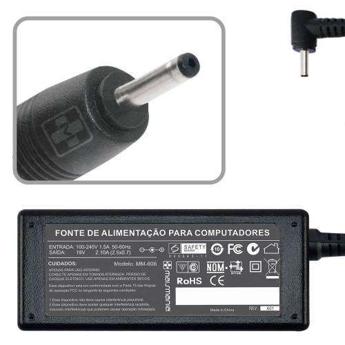 Fonte p/ Notebook 12V 3.33A Bivolt 2.5×0.7mm MAISMANIA - Casa da Pilha