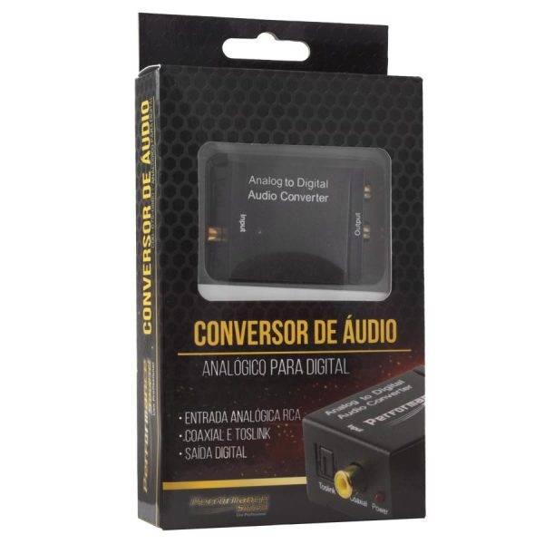 Conversor Analógico P/ Óptico Alta Performance CHIPSCE - Casa da Pilha