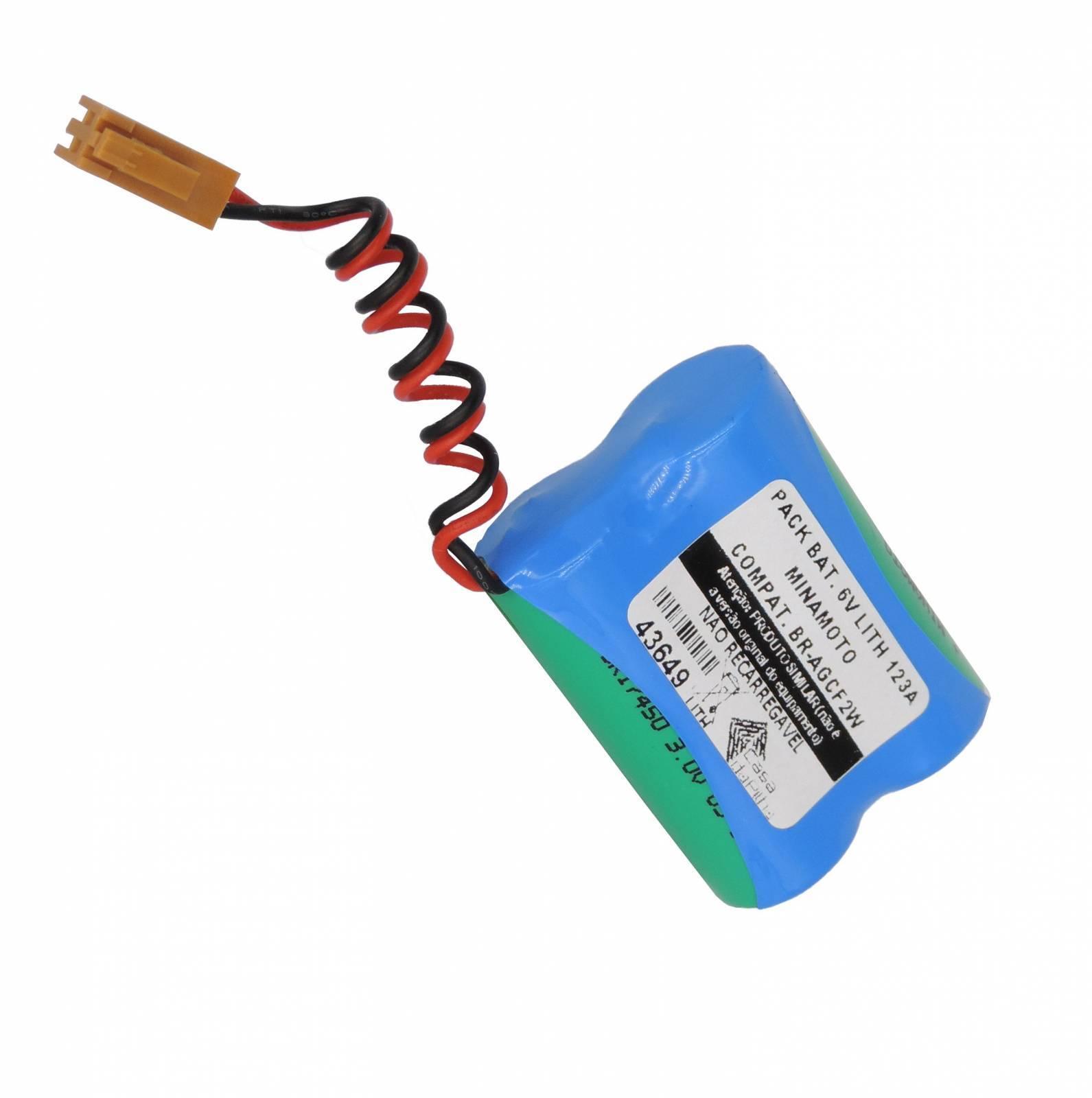 Bateria PACK 6V LITH PLC Fanuc (Simil. BR-AGCF2W) MINAMOTO - Casa da Pilha