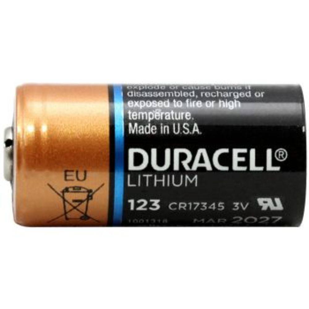 Bateria 3V DL123ABU Lithium DURACELL - Casa da Pilha