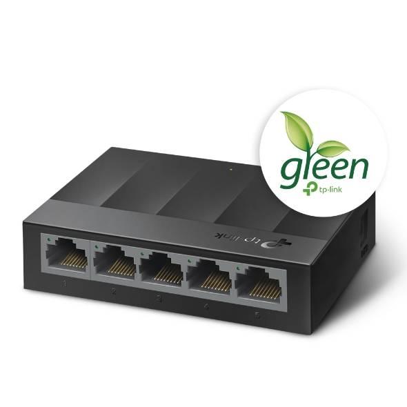 Switch 5 Portas Gigabit 10/100/1000 LS1005G TP-LINK - Casa da Pilha