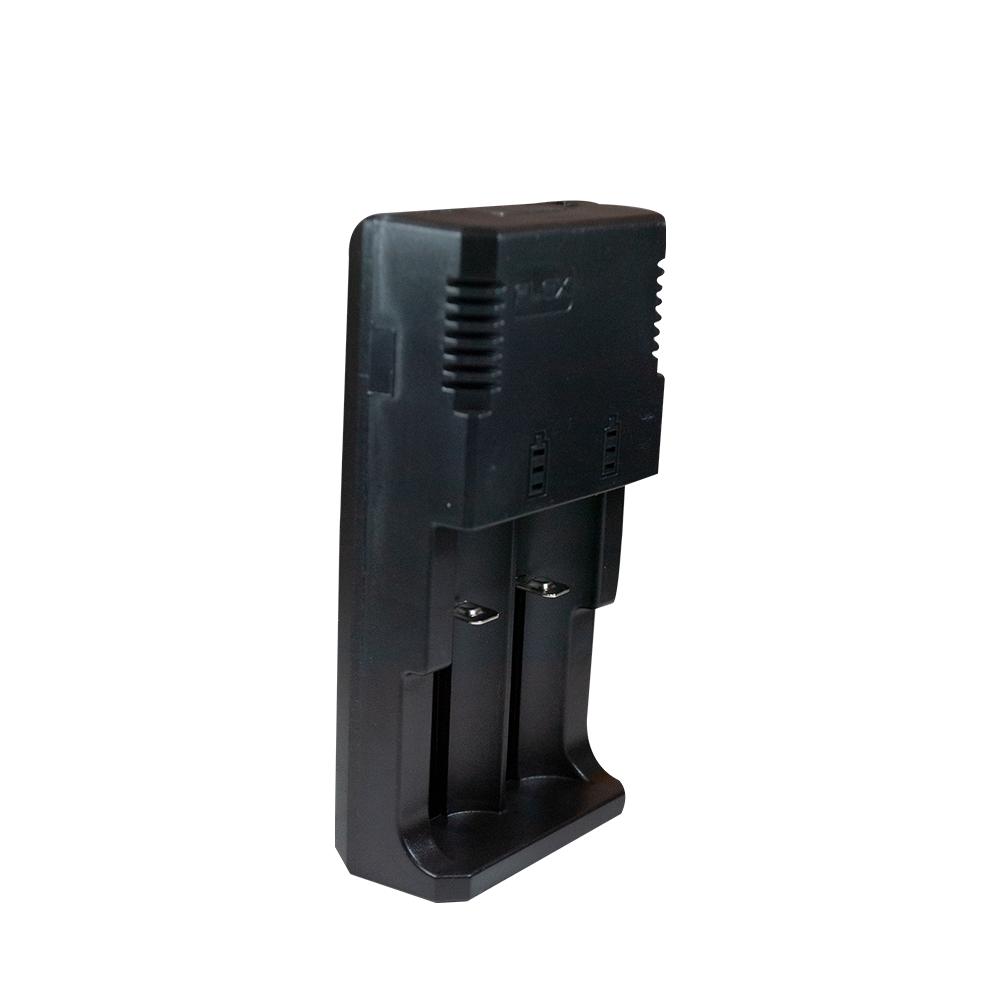 Carregador de Baterias de Lithium Duplo Universal + 2 Baterias 18650 FX-C10 FLEX - Casa da Pilha