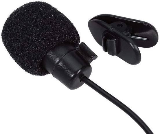 Microfone de Lapela P2 4 Canais (P3) XC-ML-02 X-CELL - Casa da Pilha