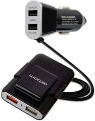 Carregador USB 4 Saídas 48W Veicular com Extensor 1,6M CA4U-EX48A10 Exbom