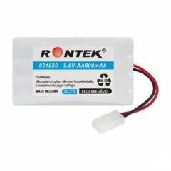 Bateria 9,6V 800mAh (Pack AA)