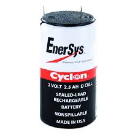 Bateria Cyclon 2V 2,5Ah Recarregável c/ Terminal - Casa da Pilha