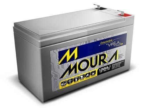 Bateria Selada 12V 7Ah VRLA MOURA - Casa da Pilha