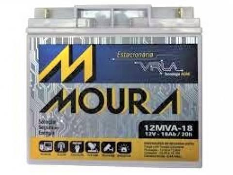 Bateria Selada 12V 18Ah VRLA MOURA - Casa da Pilha