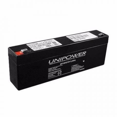Bateria Selada 12V 2,3Ah UP1223 VRLA UNIPOWER - Casa da Pilha