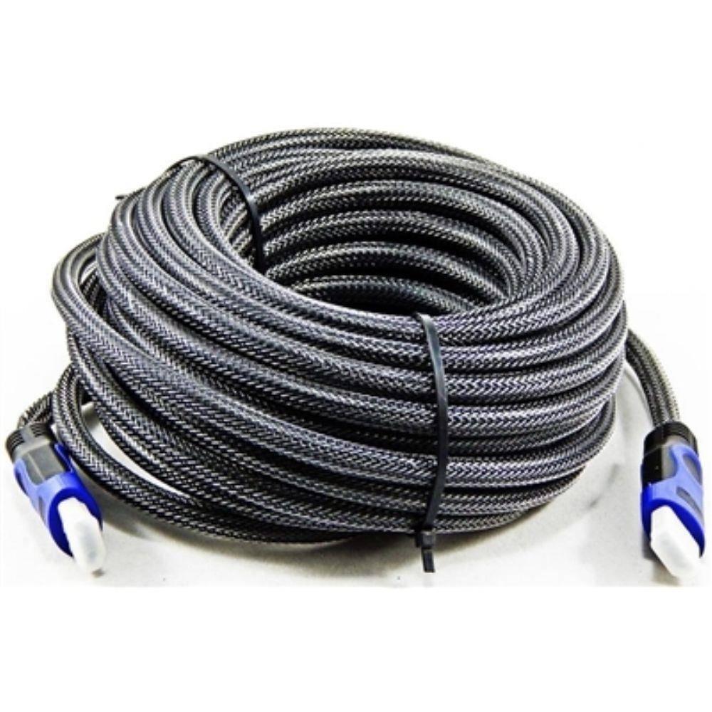 Cabo HDMI 1.4 20m c/ Malha e Filtro  - Casa da Pilha
