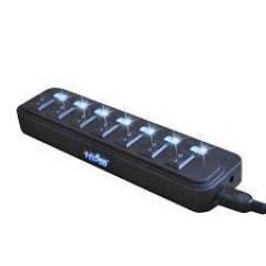 Extensão HUB USB 2.0 10 portas c/ alimentação HB-T69  KNUP