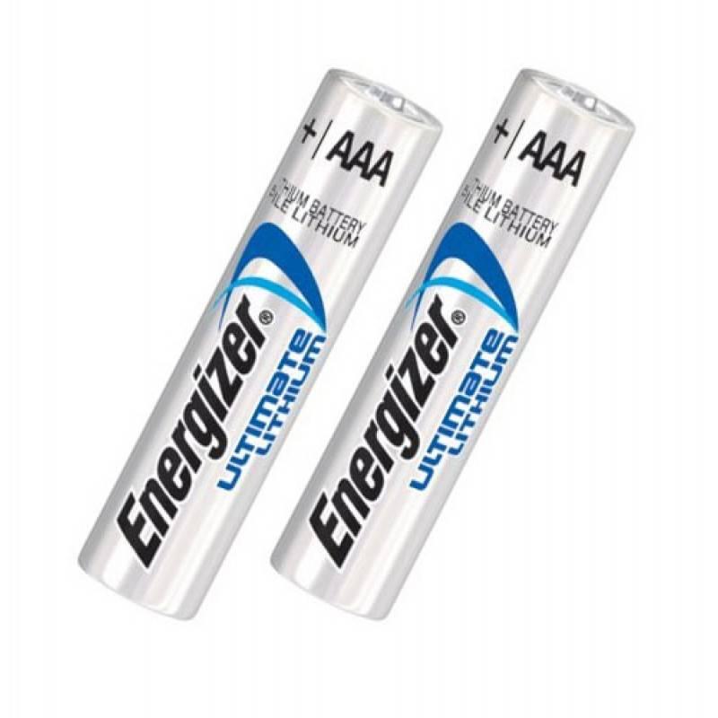 Pilha AAA Lithium Ultimate Energizer Blister c/ 2un. - Casa da Pilha