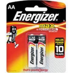 Pilha AA Alcalina Energizer Max Blister c/ 2un.